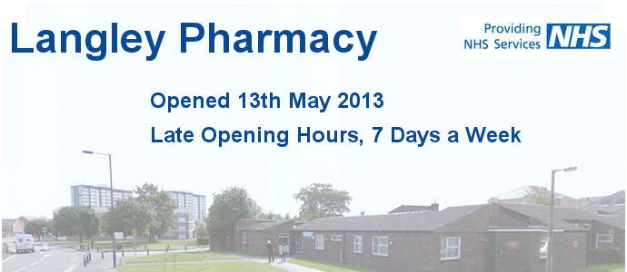 Pharmacy open 7 days a week